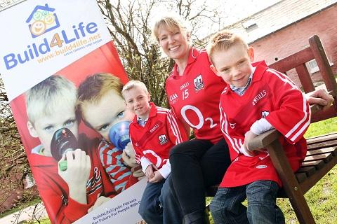 Rachel Allen and Build4Life4Kids Cystic Fibrosis Charity