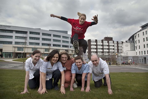 Olympic Athlete asks for support for Cork University Hospital