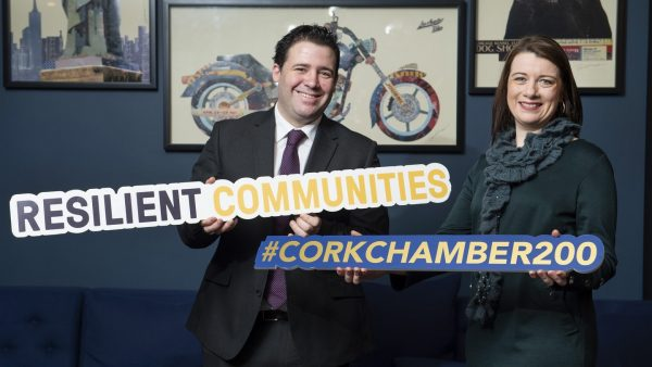 At the 2020 Chambers Ireland Chamber Awards, Cork Chamber won 'Best Chamber Marketing Campaign' for their bicentenary celebrations.
